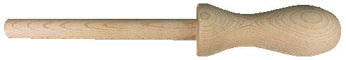 Custom_Wood_Handle_with_Tenon.jpg, wood dowel with shaped handle end, wood handle with dowel rod