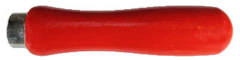 Lutz_Short_Ferrule_custom_painted_red.jpg, painted wood file handle, Lutz file handle painted