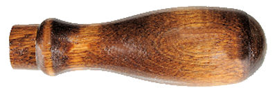 Walnut_Stained_Wooden_Handle.jpg, walnut handle made in usa,walnut handle with large end hole