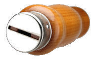 Custom_Ferrule.jpg, wood handle with custom ferrule, custom ferrule for knife blade